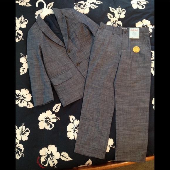 Boys Navy Blue Blazer Size 7 Cat And Jack Brand NWT